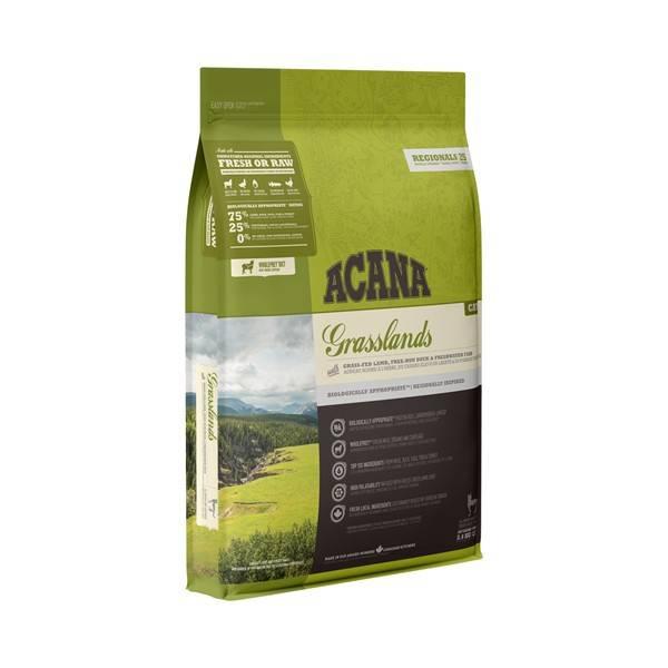 Acana Regional Grasslands hrana za pse, jagnjetina, piletina, pačetina, štuka