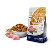Farmina N&D low grain adult cat lamb and blueberry 300gr