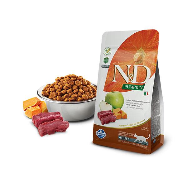 Farmina N&D Grain Free Pumpkin Cat Venison&Apple