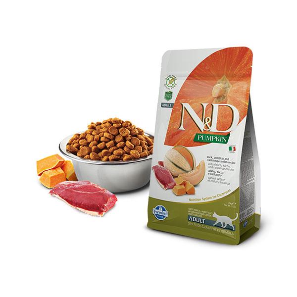 Farmina N&D Grain Free Pumpkin Cat Duck&Cantaloupe Melon