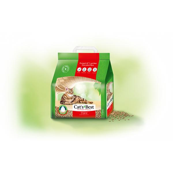 Cats Best Oko Plus (Original) ekološki grudvajući posip za mačke 100% biljna vlakna