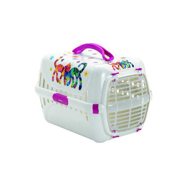 Moderna Trendy Runner Friends Forever, pink, transporter za mačke do 5kg težine