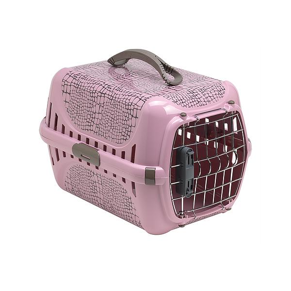 Moderna Trendy Runner Wildlife, pink, transporter za mačke