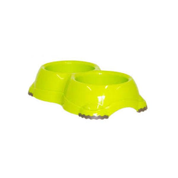 Moderna Double Smarty Bowls, limun, činija za mace