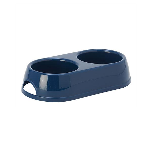 Moderna Double Eco Bowl, plava činija za mačke