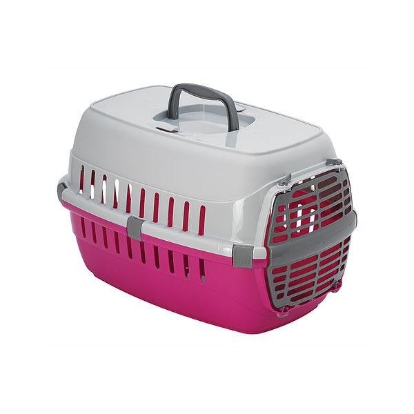 Moderna Road Runner 1 Plastic Door, pink transporter za macke i male pse