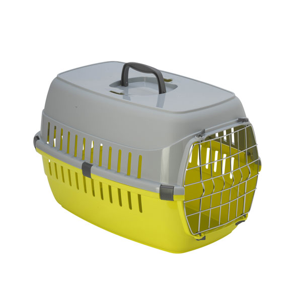 Moderna Road Runner metal door, limun transporter za macke i male pse