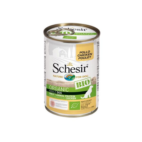 Schesir Dog BIO Organic konzervirana hrana za pse, piletina