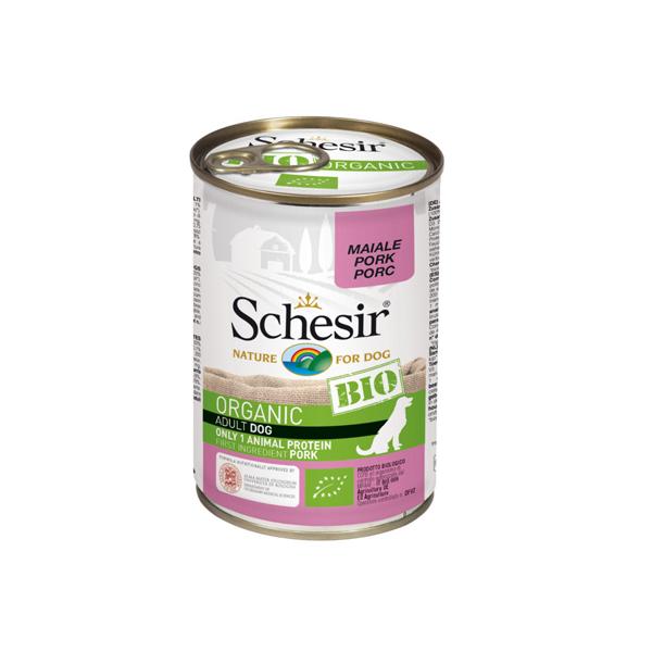 Schesir Dog BIO Organic konzervirana hrana za pse, svinjetina