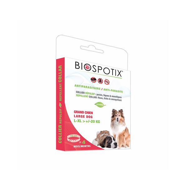 Biogance Biospotix Large dog collar ogrlica za zaštitu velikih pasa