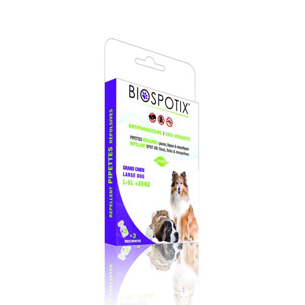 Biogance Biospotix Dog Spot on preparat za zastitu pasa od krpelja I ostalh parazita