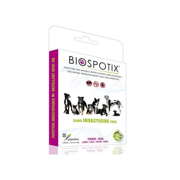Biogance Biospotix Dog Spot on preparat za zaštitu pasa od krpelja