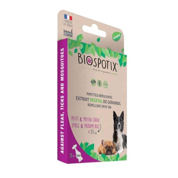 Biogance Biospotix Dog Spot On S-M, preparat za zaštitu štenaca i odraslih pasa do 20kg od krpelja i ostalih parazita | Apetit shop - Online prodaja hrane i opreme za kućne ljubimce