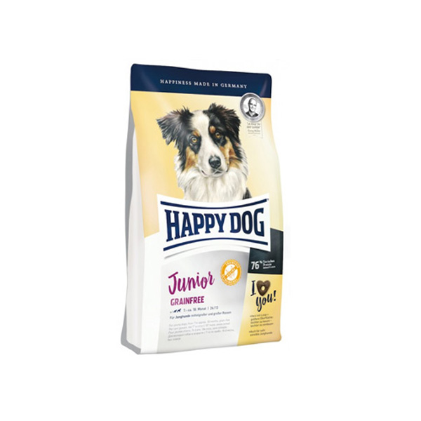 Happy Dog Junior Grainfree hrana za mlade pse bez žitarica