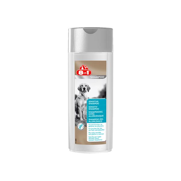 8 in1 Sensitive Shampoo Hypoallergenic-hipoalergijski šampon za pse