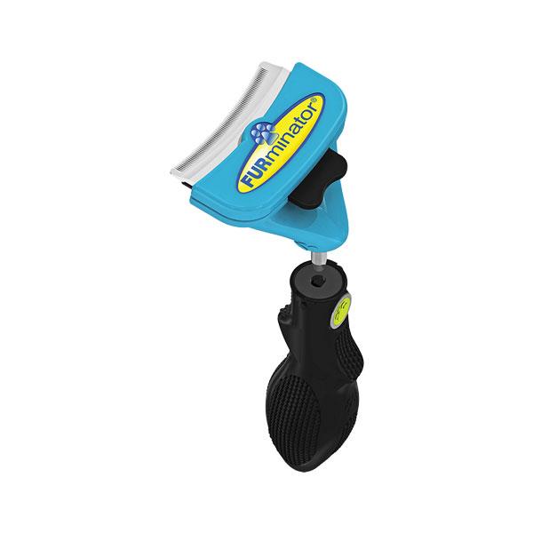 Furminator FUR deShedding FURflex combo  furminator za pse srednjih rasa svih vrsta dlake combo