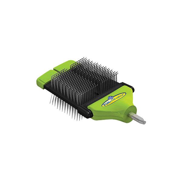 Furminator FUR deShedding FURflex Small Slicker  nastavak dual slicker brush small, namenjen za rucku FurFlex Handle