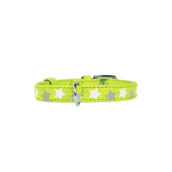 Collar ogrlica za psa Star zelena