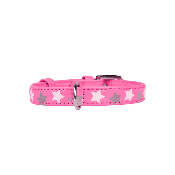 Collar ogrlica za pse star pink