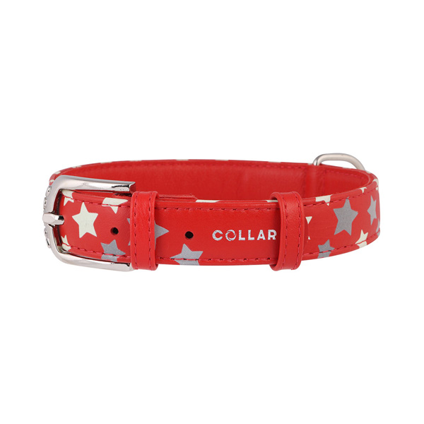 Collar ogrlica za pse star crvena