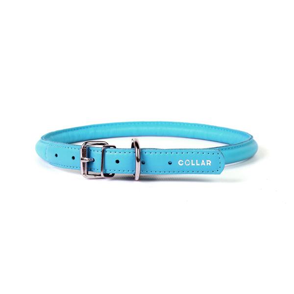 Collar ogrlica za pse okrugla plava