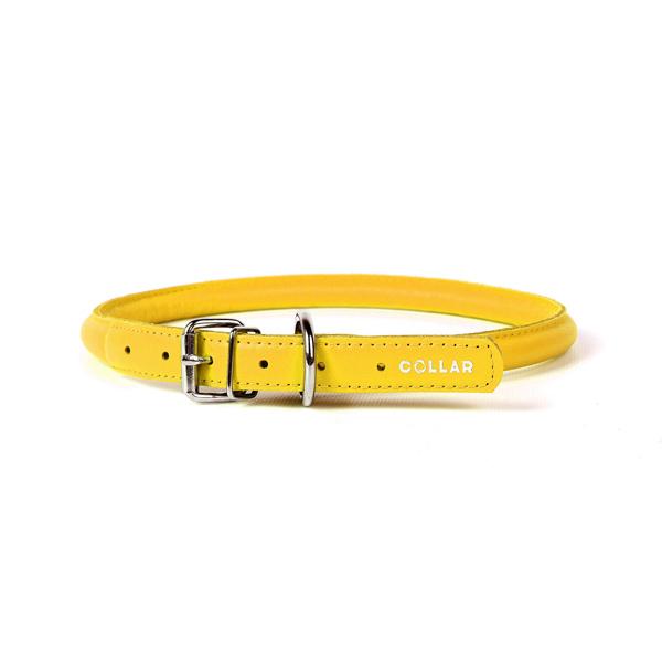 Collar ogrlica za pse okrugla žuta