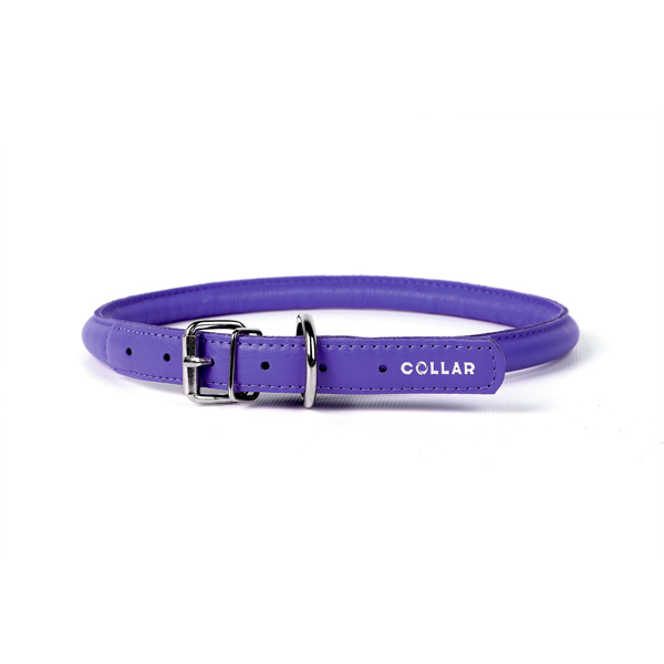 Collar ogrlica za pse okrugla Ijubičasta