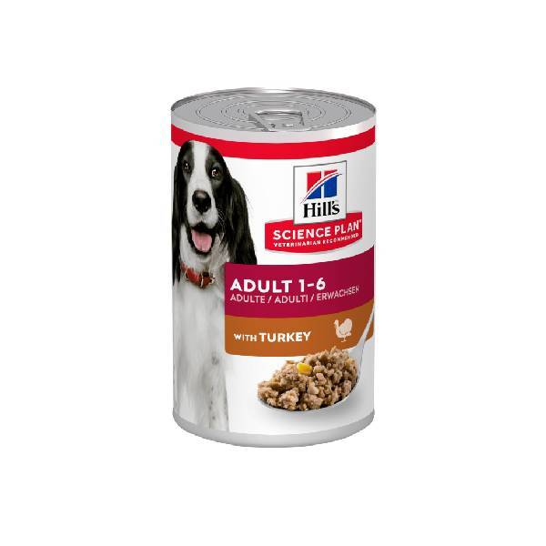 Hills Canine adult turkey 6x370gr