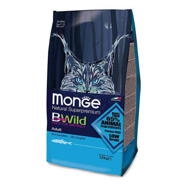 Monge Bwild Cat Adult Hrana za odrasle mačke, Sardela