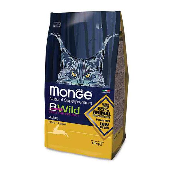 Monge Bwild Cat Adult Hrana za mačke, Zečetina