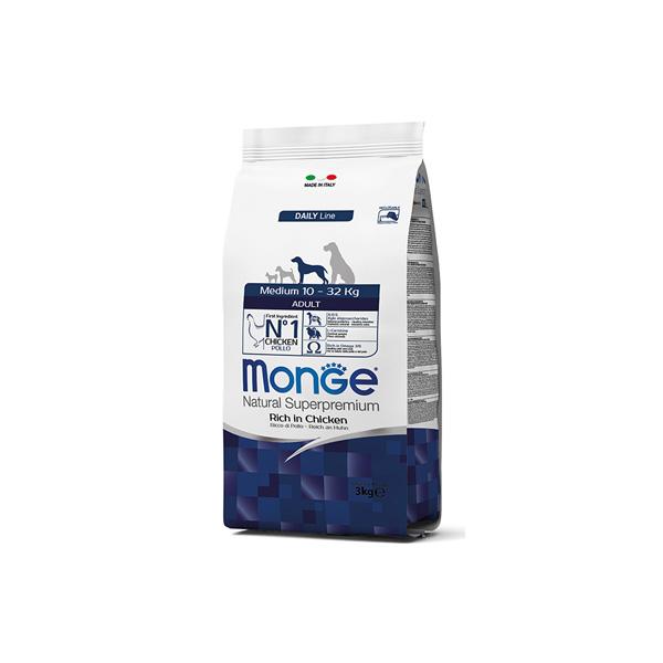 Monge medium adult hrana za odrasle pse srednjih rasa | Apetit shop - Online prodaja hrane i opreme za kućne ljubimce