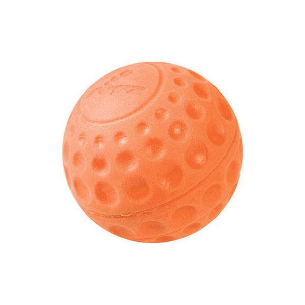 Rogz igračke za pse, loptica Eva narandžasta