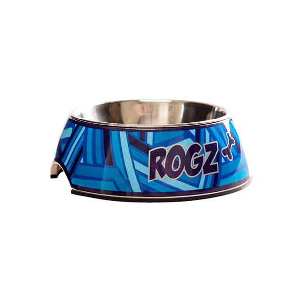 Rogz činija za pse, plava zen