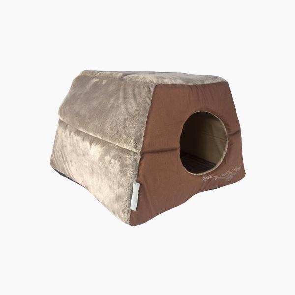 Rogz Catz Igloo Bronze Filgree, bronzana kućica za mačke