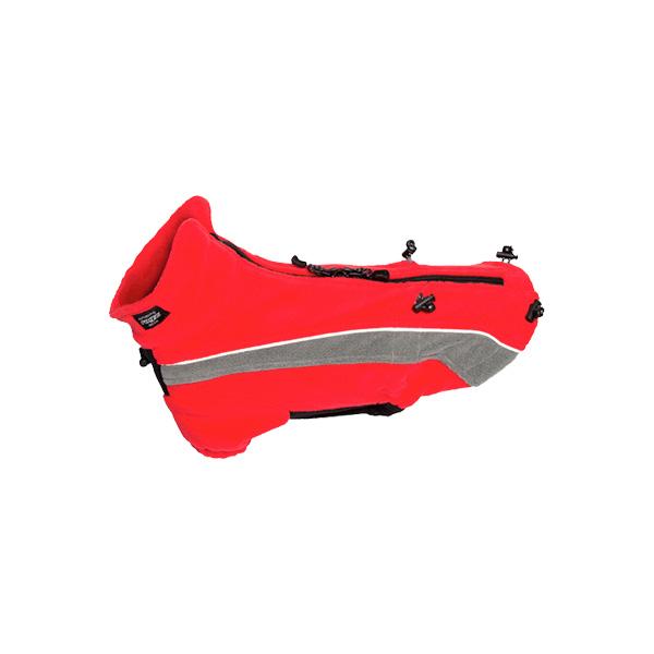 Rogz Polarskin Red, crveni duks za pse