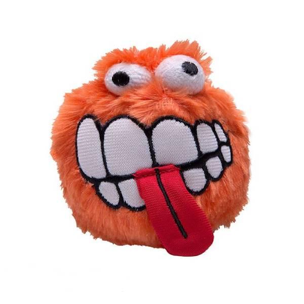 Rogz Grinz Plush Orange, narandžasta igračka za pse