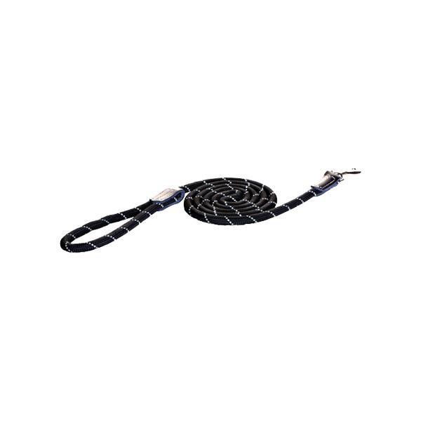 Rogz Fixed Long Lead Black | Apetit shop - Online prodaja hrane i opreme za kućne ljubimce