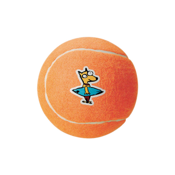 Rogz Tennisball Orange