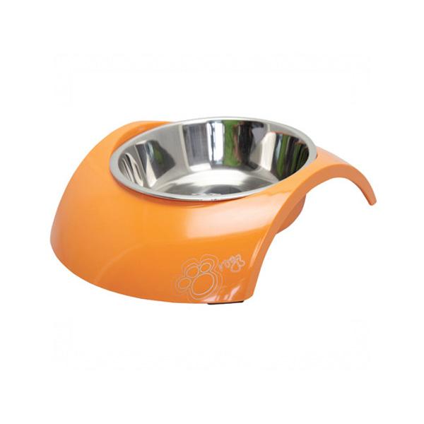 Rogz Melamine posuda za macke, narandzasta