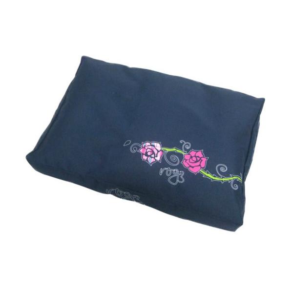 Rogz Jastuk za pse - tamno plava sa ruzom