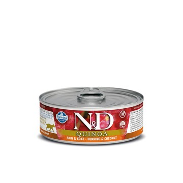 N&D Can Cat Quinoa Herring&Coconut