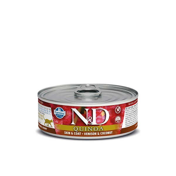 N&D Can Cat Quinoa Venison&Coconut