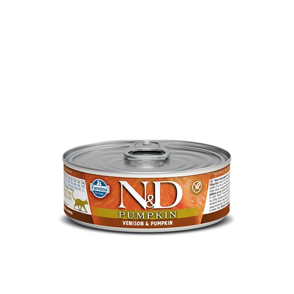 N&D Can Cat Pumpkin Venison&Pumpkin