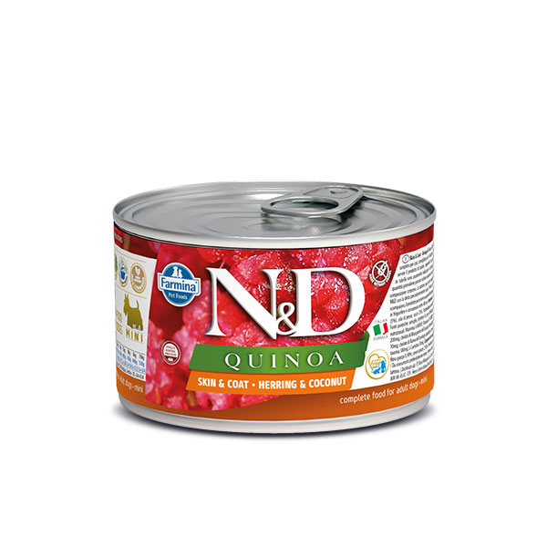 N&D Can Dog Quinoa Mini Herring&Coconut