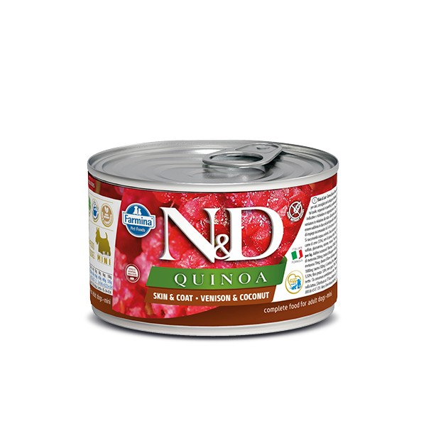 N&D Can Dog Quinoa Mini Venison&Coconut