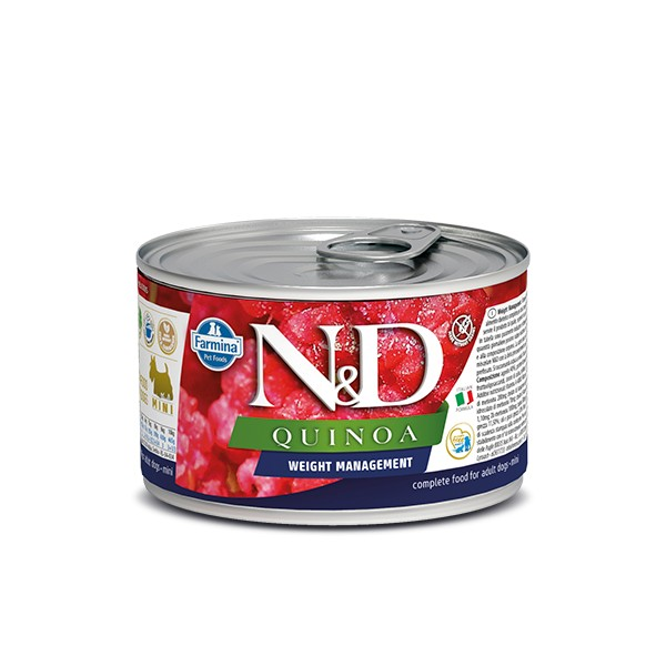 N&D Can Dog Quinoa Mini Weight Management