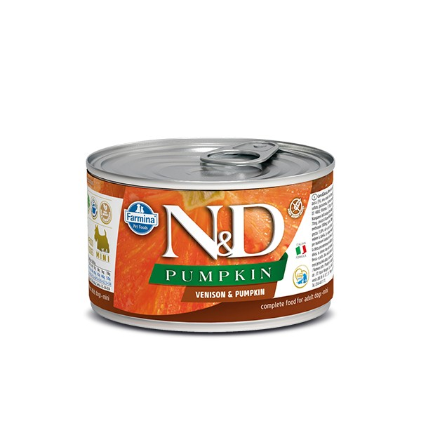 N&D Can Dog Pumpkin Mini Venison&Pumpkin
