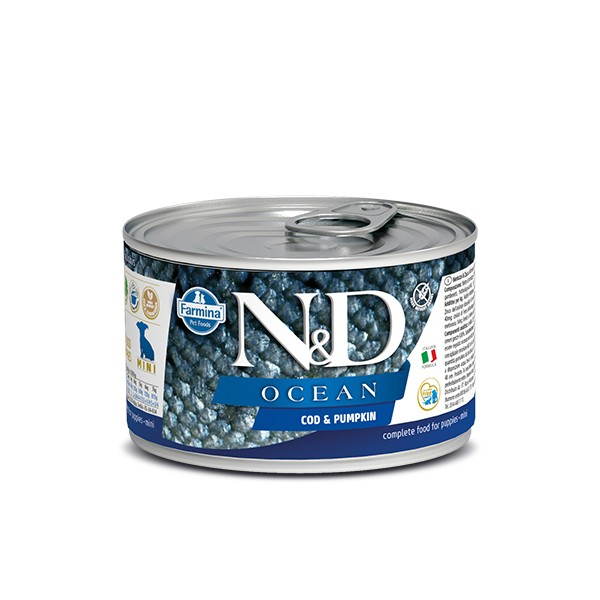 N&D Can Dog Ocean Puppy Mini Codfish&Pumpkin