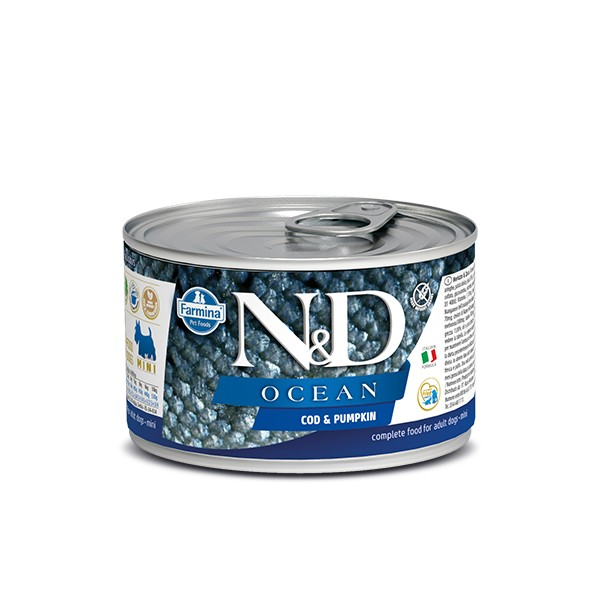 N&D Can Dog Ocean Mini Codfish&Pumpkin