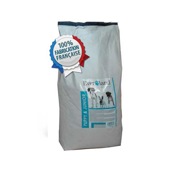Everland Puppy & Junior - Super Premium hrana za stence I mlade pse, pacetina I pirinac